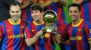 niesta: Messi debería ganar la Champions League varias veces en Barcelona