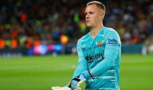 Comprar Camisetas de Futbol Barcelona Ter Stegen 2020 2021