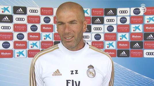 Para evitar lesiones musculares, Zidane usará el sistema de rotación después de reanudar el juego.